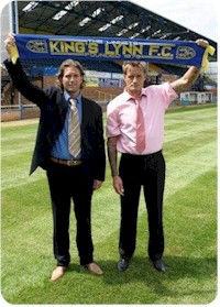 Lynn's new management team Carl Heggs (right) and Andy Johnson